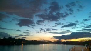 River Cruise Sunset